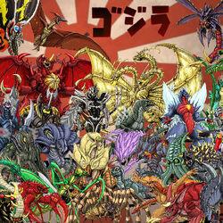 List of Godzilla monsters