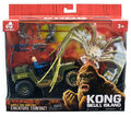 Lanard Kong Skull Island Battle for Survival Set Spider with Jeep and Figure 001
