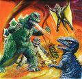 Godzilla-minya-gorosaurus-varan