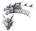 Concept Art - Rebirth of Mothra 3 - Grand King Ghidorah 4
