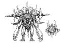 Concept Art - Godzilla 2000 Millennium - Orga 76