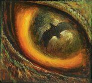 Demon Rodan draws near (Godzilla in Hell)