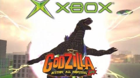 Xbox All Rage Attacks (Godzilla Destroy All Monsters Melee)