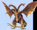 Concept Art - Rebirth of Mothra 3 - Cretaceous King Ghidorah 2