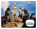 Godzilla vs. Megalon Lobby Card Germany 2