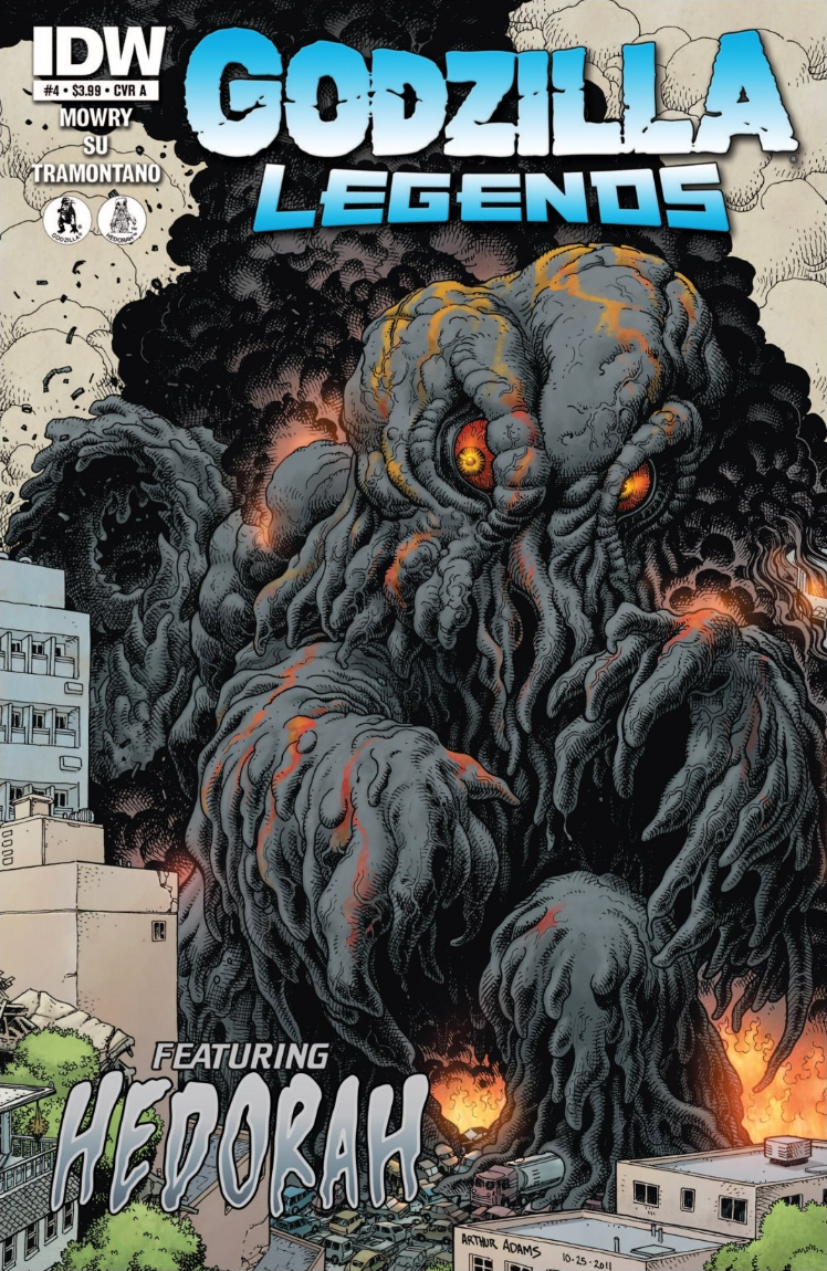 Godzilla: Legends Issue 4