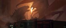 Concept Art - Godzilla 2014 - Godzilla vs. MUTO 6