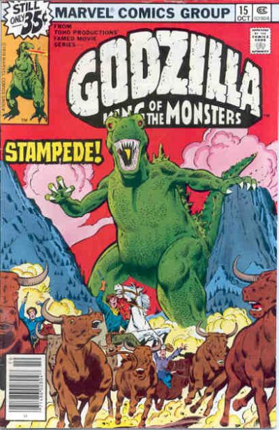 Godzilla, King of the Monsters (Marvel) Issue 15