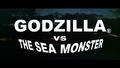 Godzilla vs. The Sea Monster New American Title Card