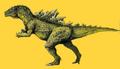 Concept Art - Godzilla vs. Destoroyah - Godzilla Junior 18
