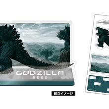 Godzilla Planet of the Monsters - Acrylic Godzilla diorama.png