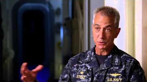 """Godzilla 2014 David Strathairn """"Admiral William Stenz"""" On Set Movie Interview"""