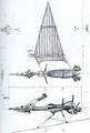 Concept Art - Godzilla vs. MechaGodzilla 2 - Pteranodon Robot 13