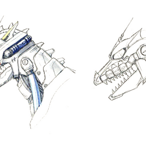 Concept Art - Godzilla Against MechaGodzilla - Kiryu Head 3.png