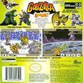 Godzilla Domination Back Cover
