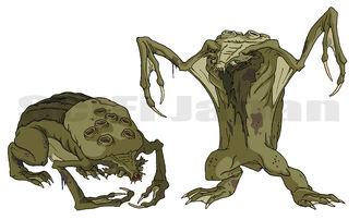 Swamp Beast concept art