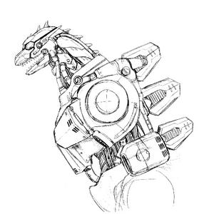 Concept Art - Godzilla Against MechaGodzilla - Kiryu 41.png