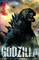 Godzilla 2014 Poster Roar Wall