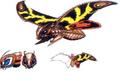 Concept Art - Rebirth of Mothra 3 - Mothra Leo 6