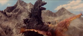 All Monsters Attack - Giant Condor flies in while in stock footage form 9-6