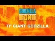 "11"" Giant Godzilla"