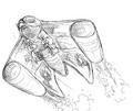 Concept Art - Rebirth of Mothra 2 - Aqua Mothra 9