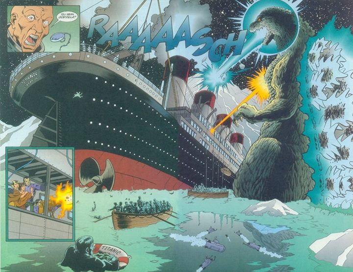 Godzilla, King of the Monsters (Dark Horse) Issue 11
