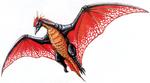 Concept Art - Godzilla vs. MechaGodzilla 2 - Rodan 5