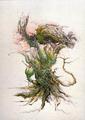 Concept Art - Godzilla vs. Biollante - Biollante 14