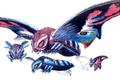 Concept Art - Rebirth of Mothra 3 - Mothra Leo 4
