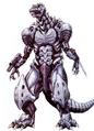 Concept Art - Godzilla Against MechaGodzilla - Kiryu 6