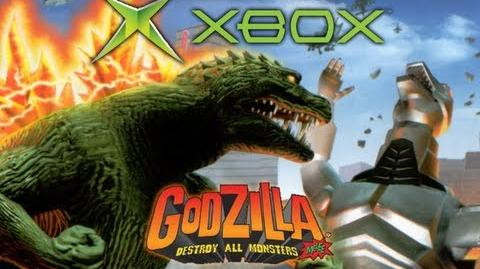 Xbox All Monster Intros (Godzilla Destroy All Monsters Melee)