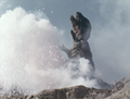 Go! Godman - Episode 6 Godman vs. Gorosaurus - 34 - So we meet again sky