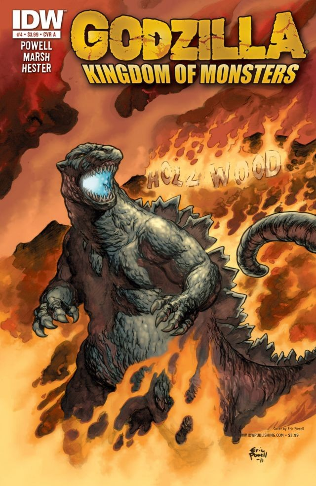 Godzilla: Kingdom of Monsters Issue 4