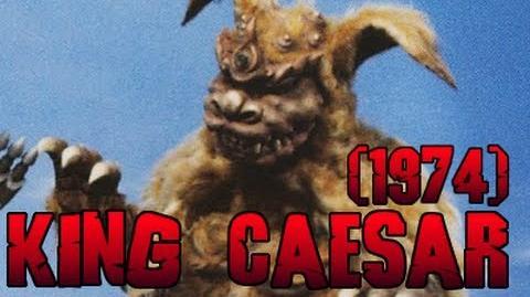 King Caesar Roars (Godzilla vs