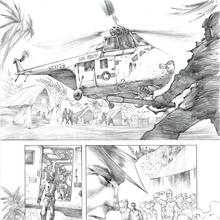 Concept Art - Godzilla Awakening - General MacArthur Allows Castle Bravo.png