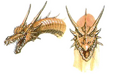 Concept Art - Rebirth of Mothra 3 - Cretaceous King Ghidorah 4