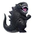 Bandai Godzilla 2014 Gojira Chibi