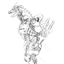 Concept Art - Godzilla Against MechaGodzilla - Kiryu 40.png
