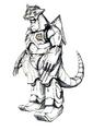 Concept Art - Godzilla Against MechaGodzilla - Kiryu 46