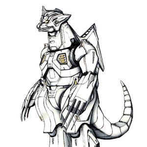 Concept Art - Godzilla Against MechaGodzilla - Kiryu 46.png