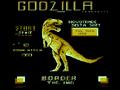 Godzilla Commodore 16 Title