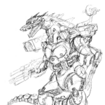 Concept Art - Godzilla Against MechaGodzilla - Kiryu 37.png
