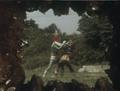 Go! Greenman - Episode 3 Greenman vs. Gejiru - 26 - Underworld view