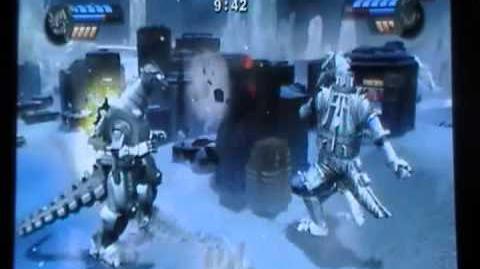 Godzilla Unleashed Kiryu vs Mechagodzilla