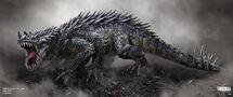 Concept Art - Godzilla 2014 - Josh Nizzi Rokmutul