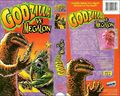 Godzilla vs. Megalon VHS Cover