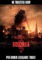 GODZILLA 2014 DVD PRE-ORDER