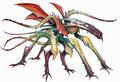Concept Art - Godzilla vs. Biollante - Godzilla vs. Rose Biollante 6