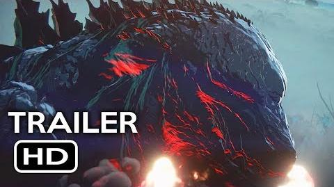 Godzilla- Monster Planet Official Trailer -1 (2017) Netflix Animated Movie HD